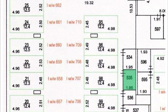 Склад, 5.9 м2, класс A