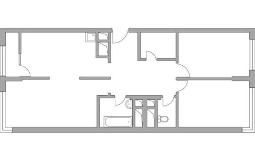 3-комн квартира, 76.63 м2, 21 этаж