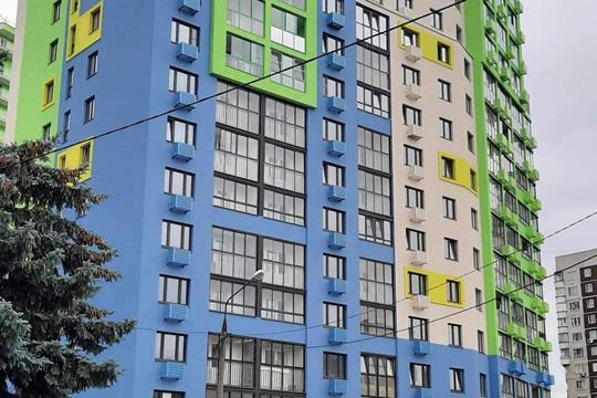 2-комн квартира, 53.7 м2, 5 этаж