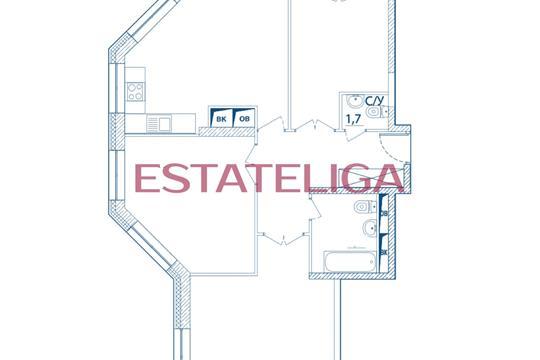 3-комн квартира, 98 м2, 6 этаж