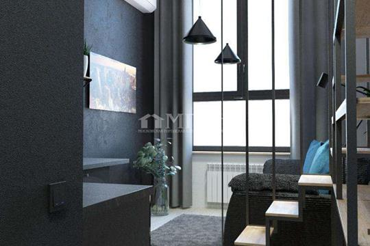 1-комн квартира, 27 м2, 4 этаж