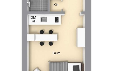 Студия, 18.2 м2, 2 этаж