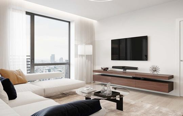 2-комн квартира, 75.7 м2, 15 этаж