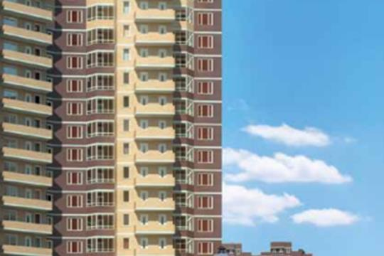 3-комн квартира, 61.3 м2, 16 этаж