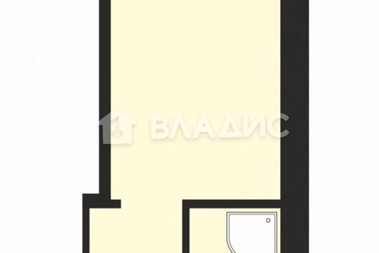 Студия, 18.3 м2, 14 этаж