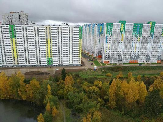 2-комн квартира, 75.3 м2, 13 этаж - фото 1
