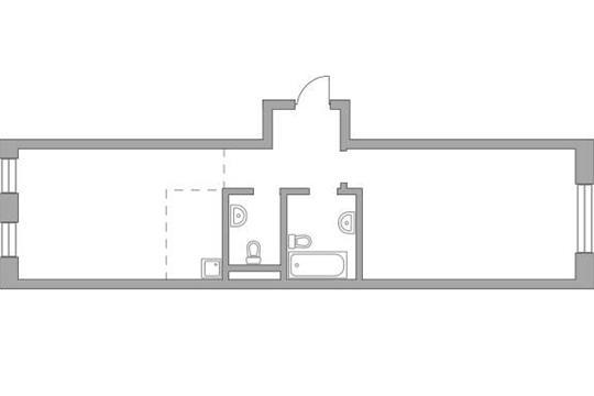 2-комн квартира, 59.13 м2, 7 этаж