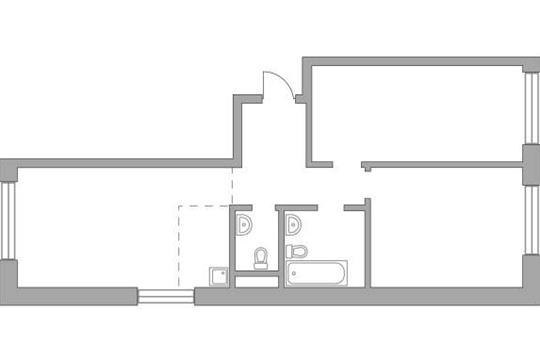 3-комн квартира, 78.23 м2, 14 этаж