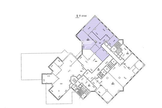 Офис, 259 м2, класс B