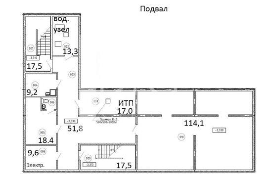 Офис, 1422 м2, класс B