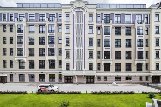 2-комн квартира, 72.2 м2, 4 этаж