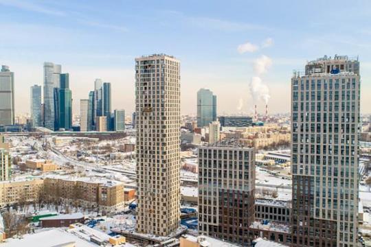2-комн квартира, 61 м2, 36 этаж