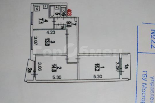 Комната в квартире, 63.6 м2, 11 этаж