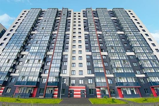 2-комн квартира, 56.32 м2, 14 этаж