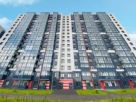 2-комн квартира, 56.32 м2, 14 этаж - фото 1