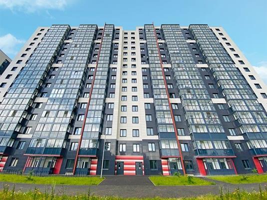 2-комн квартира, 58.33 м2, 15 этаж - фото 1