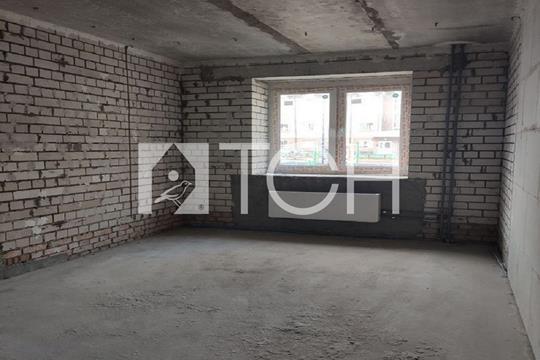 2-комн квартира, 51.5 м2, 1 этаж