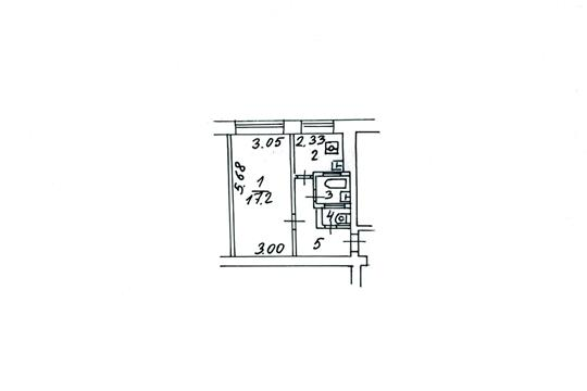 1-комн квартира, 30.9 м2, 1 этаж