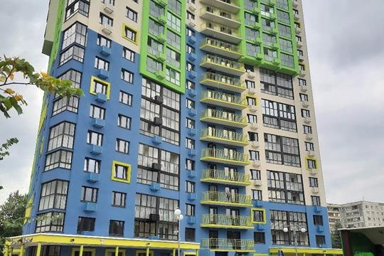 2-комн квартира, 57.5 м2, 19 этаж
