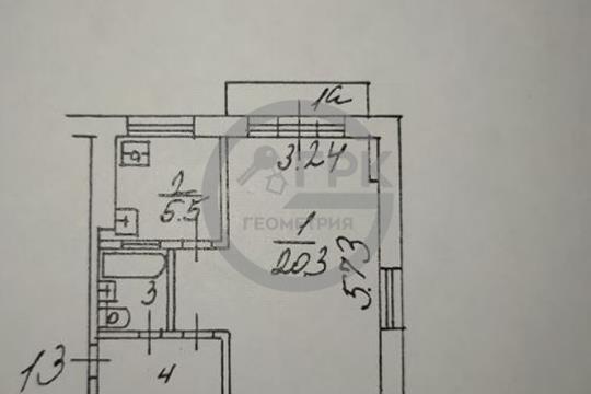 1-комн квартира, 32.2 м2, 4 этаж