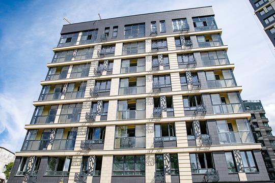 2-комн квартира, 72.4 м2, 8 этаж