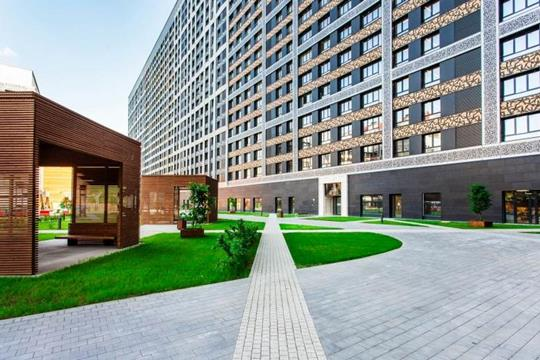 1-комн квартира, 54.6 м2, 20 этаж